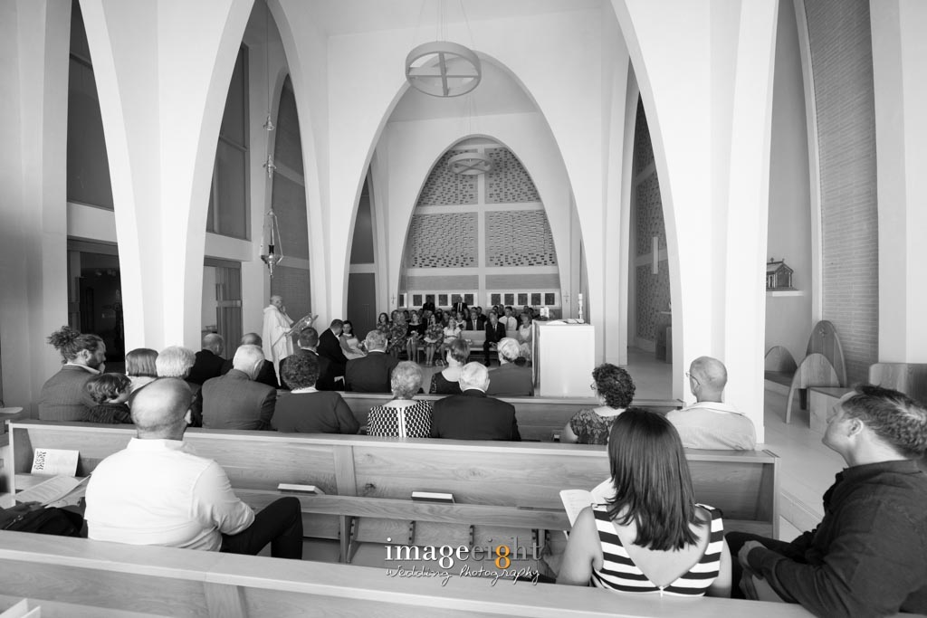 Wedding - St. Mary of the Cross MacKillop Chapel, CUA