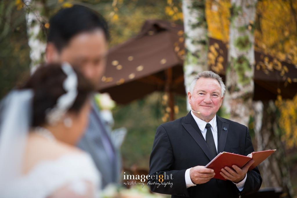 Greg Evans, Marriage Celebrant