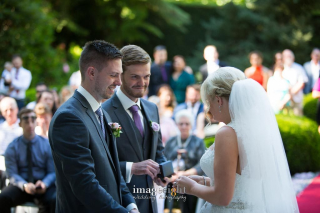 Catherine and James – wedding Marybrooke Manor