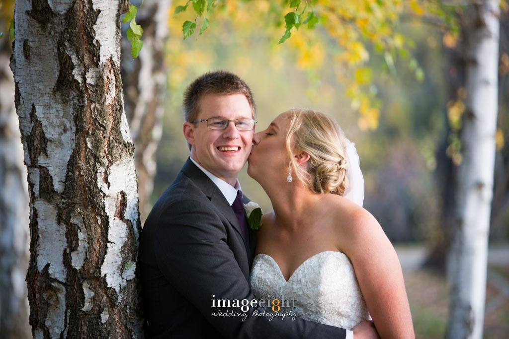 Megan and Steve Lake House wedding