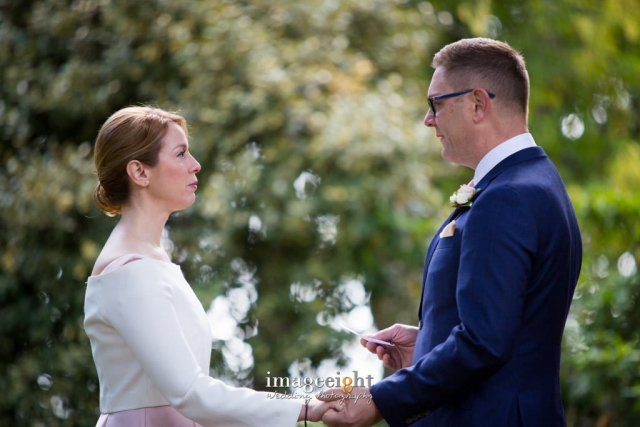 Helen and Eric Lakehouse, Daylesford Wedding