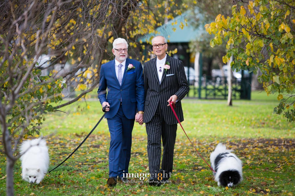 Trevor + Eddie - Wedding
