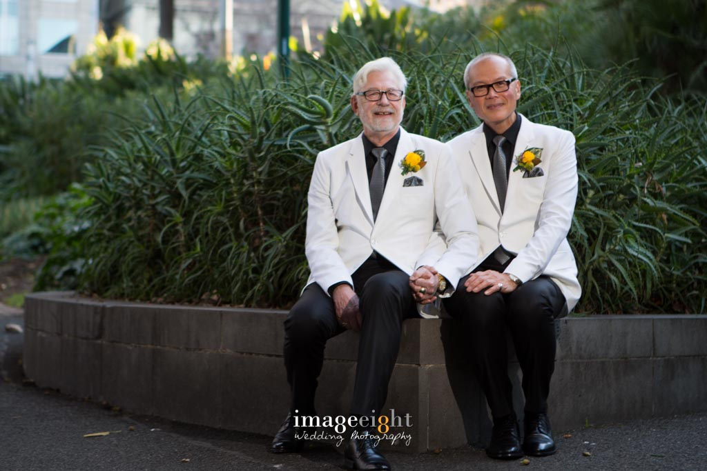 Trevor + Eddie wedding at The Windsor hotel