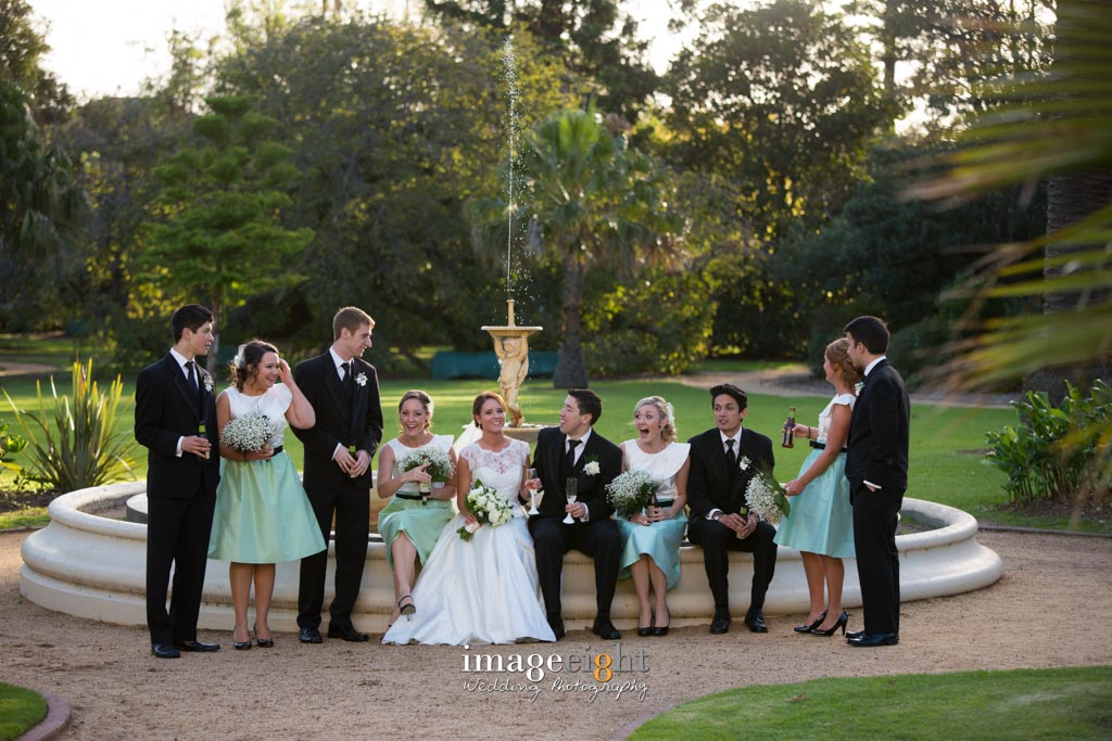 Andres & Katherine's Wedding at Kamesburgh Gardens Anzac Hostel