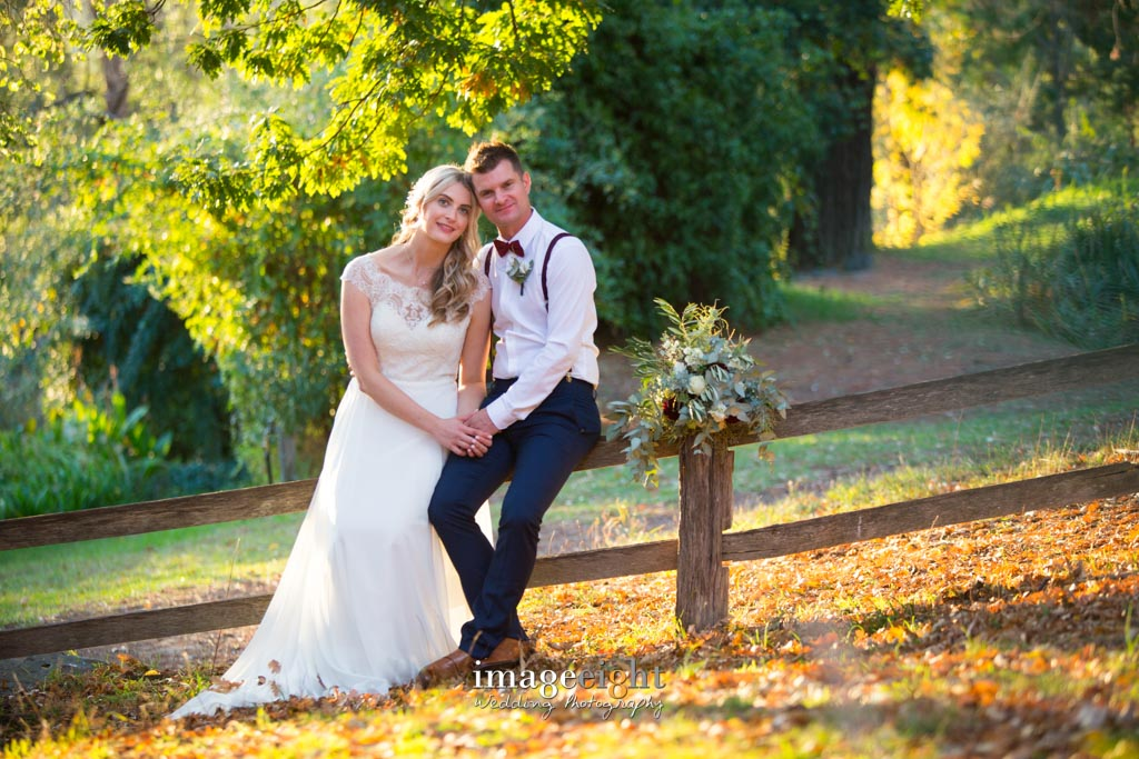 Sarah + Richard - wedding at Montsalvat