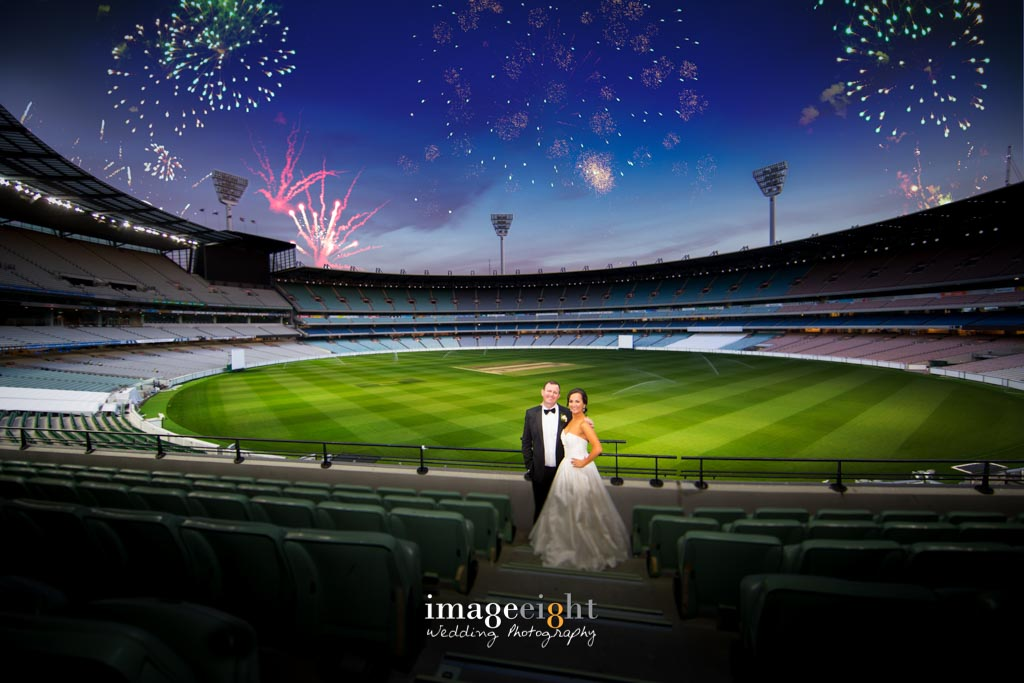 Alice & Tim's Wedding at MCG
