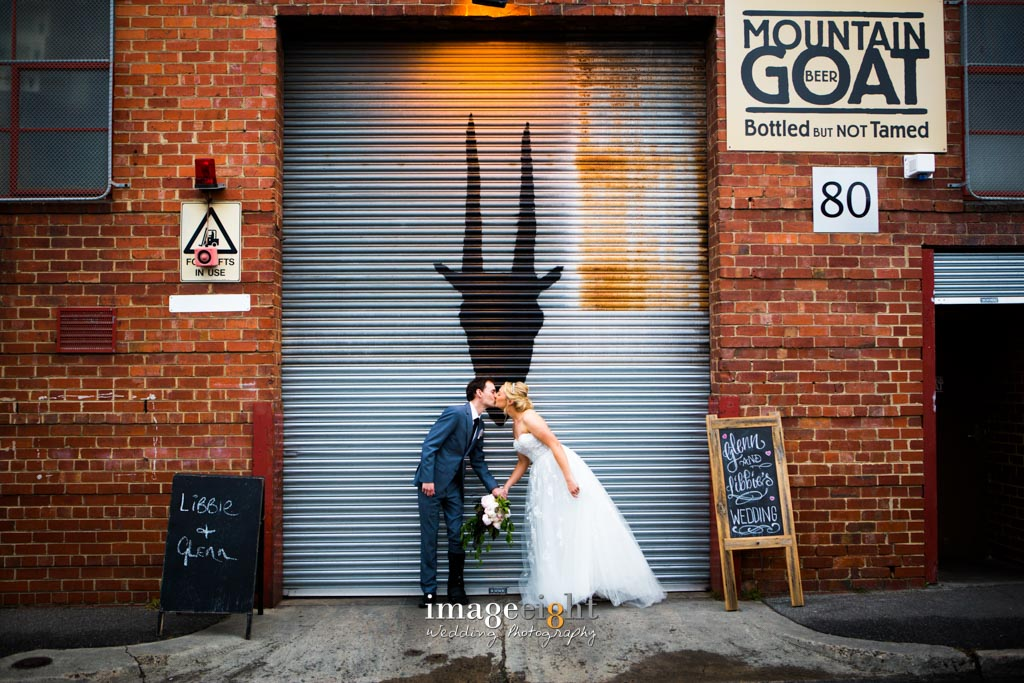 Libbie & Glenn's Wedding at Mountain Goat Brewery