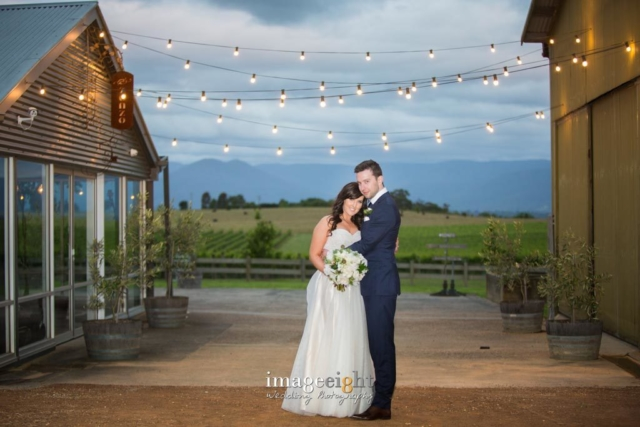 Amy & Chris' wedding at Zonzo Winery