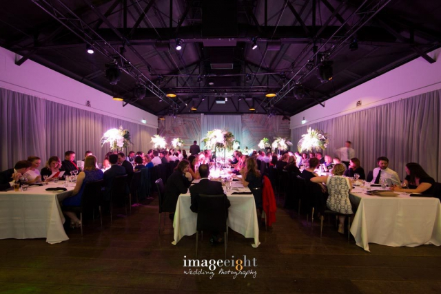 Cargo Hall, South Wharf weddings and Events